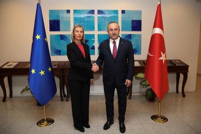 توضیحات موگرینی درباره روند مذاکرات ترکیه با اتحادیه اروپا