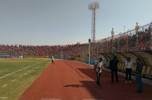 بی نظمی در فروش بلیط مسابقه پارس جم و پرسپولیس، نصف استادیوم سرخ شد