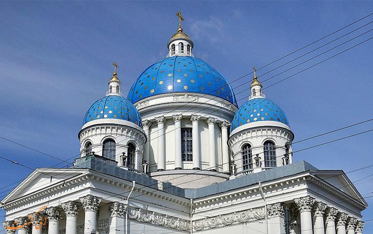 بهترین کلیساهای سنت پترزبورگ روسیه