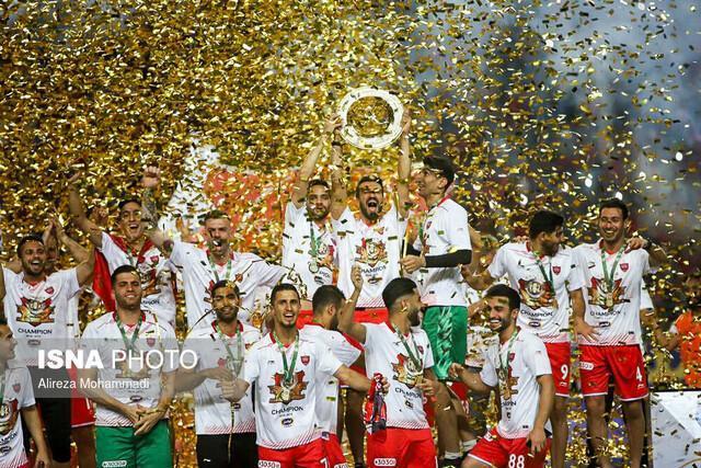 جام قهرمانی جام حذفی به پرسپولیس اهدا شد